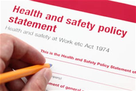 How to write a report health and safety